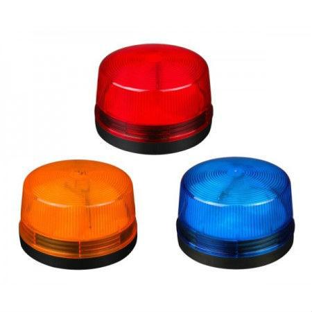 OEM SL-079 Φάρος Strobo 12V - Κίτρινο, Μπλε, Κόκκινο