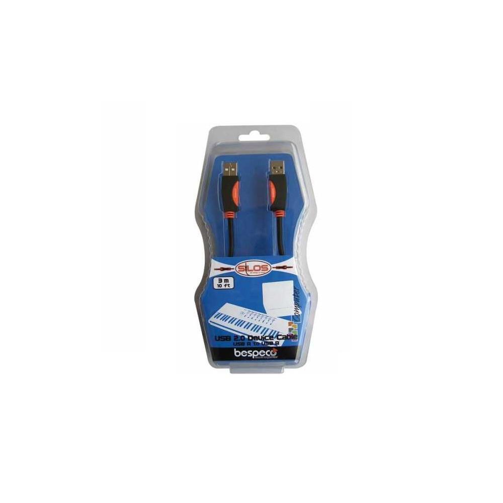 BESPECO SLAB180 USB 2 CABLE (A-B PLUG) 1.8m