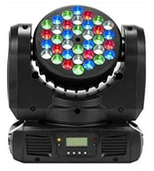 LED MOVING HEAD 36x5RGBW - ST-1012