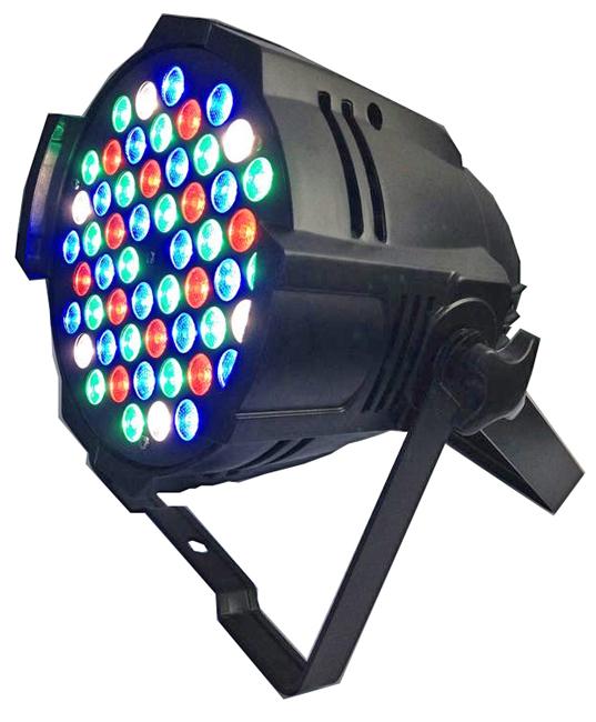 STARAY ST-1018 LED ΠΡΟΒΟΛΕΑΣ RGBW 54X3W BLACK IP 20