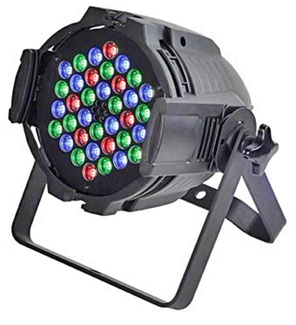 STARAY ST-1019 LED ΠΡΟΒΟΛΕΑΣ RGB 36X3W BLACK IP 20