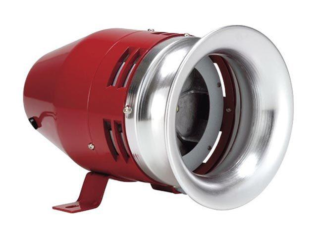 Semco MS-135/220 Σειρήνα 220VAC - Κόκκινη