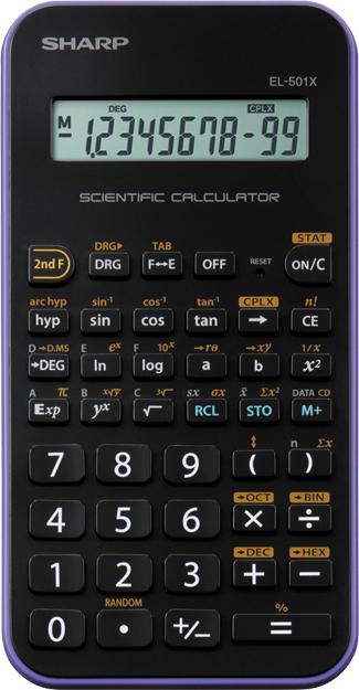 Sharp, EL501XVL, Επιστημονικό Κομπιουτεράκι