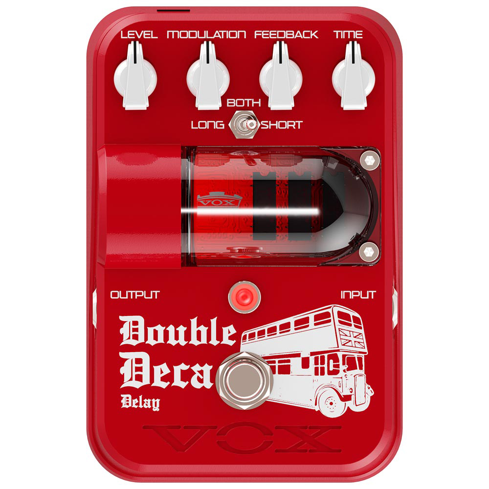 VOX TG2-DDDL DOUBLE DECA DELAY PEDAL