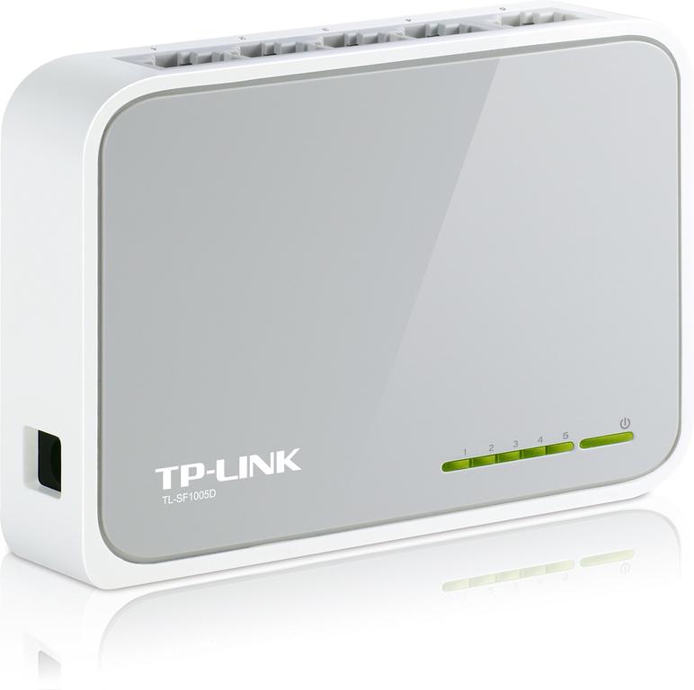 TP-Link, TL-SF1005D, Διανομέας Δικτύου 5 Port Network Switch 10/100 V.12