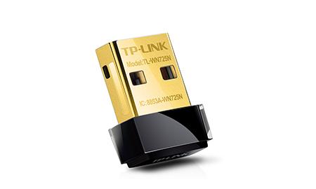 Ασύρματο TP-Link TL-WN725N 150Mbps USB Nano Wifi N adapter Ver.2