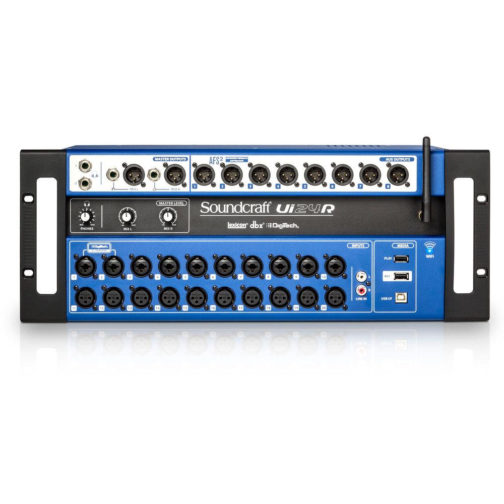 Soundcraft UI-24R Ψηφιακή Κονσόλα 24 Εισόδων /14 Εξόδων Wi-Fi