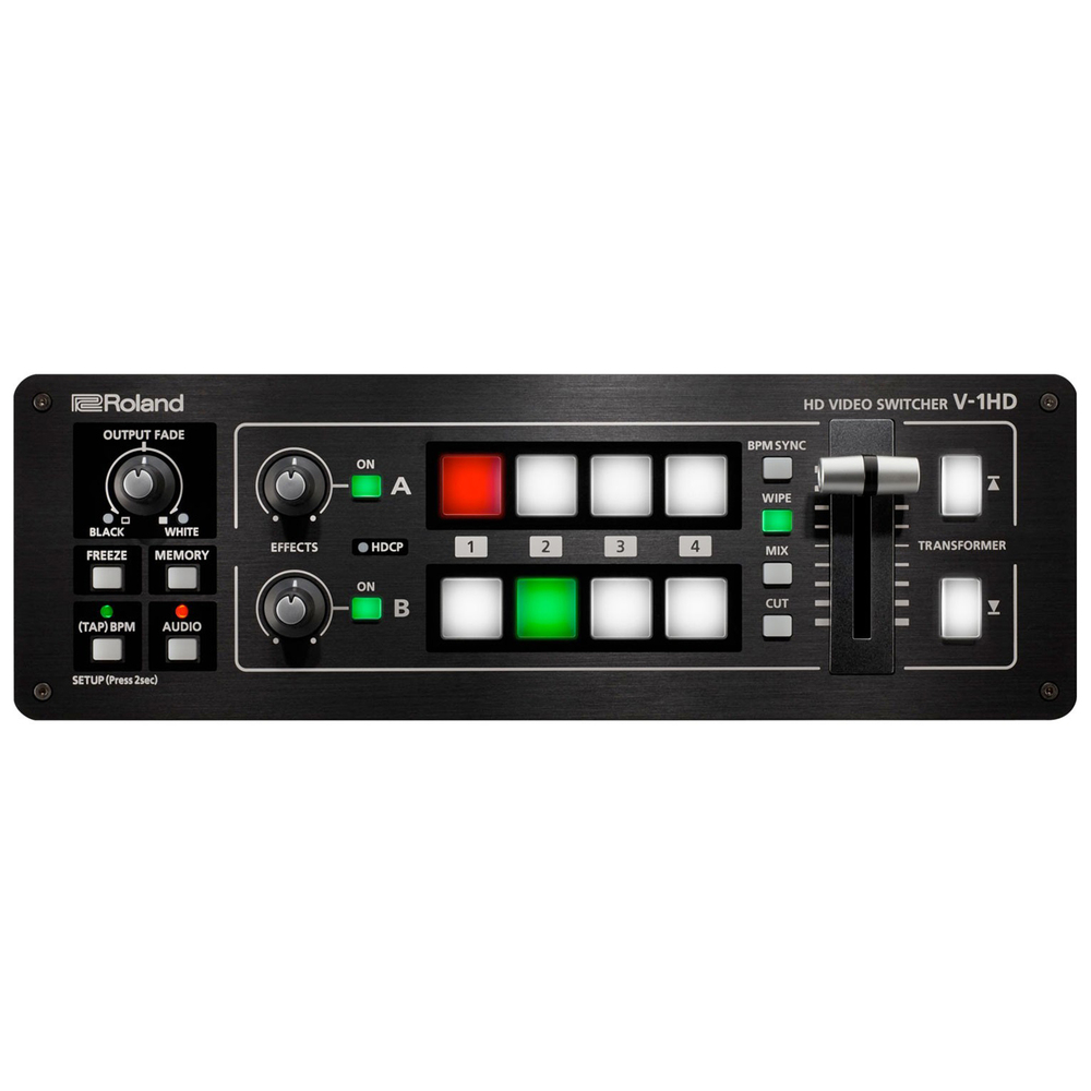 ROLAND  V-1HD 4 CHANNEL HD VIDEO MIXER FIX FORMAT