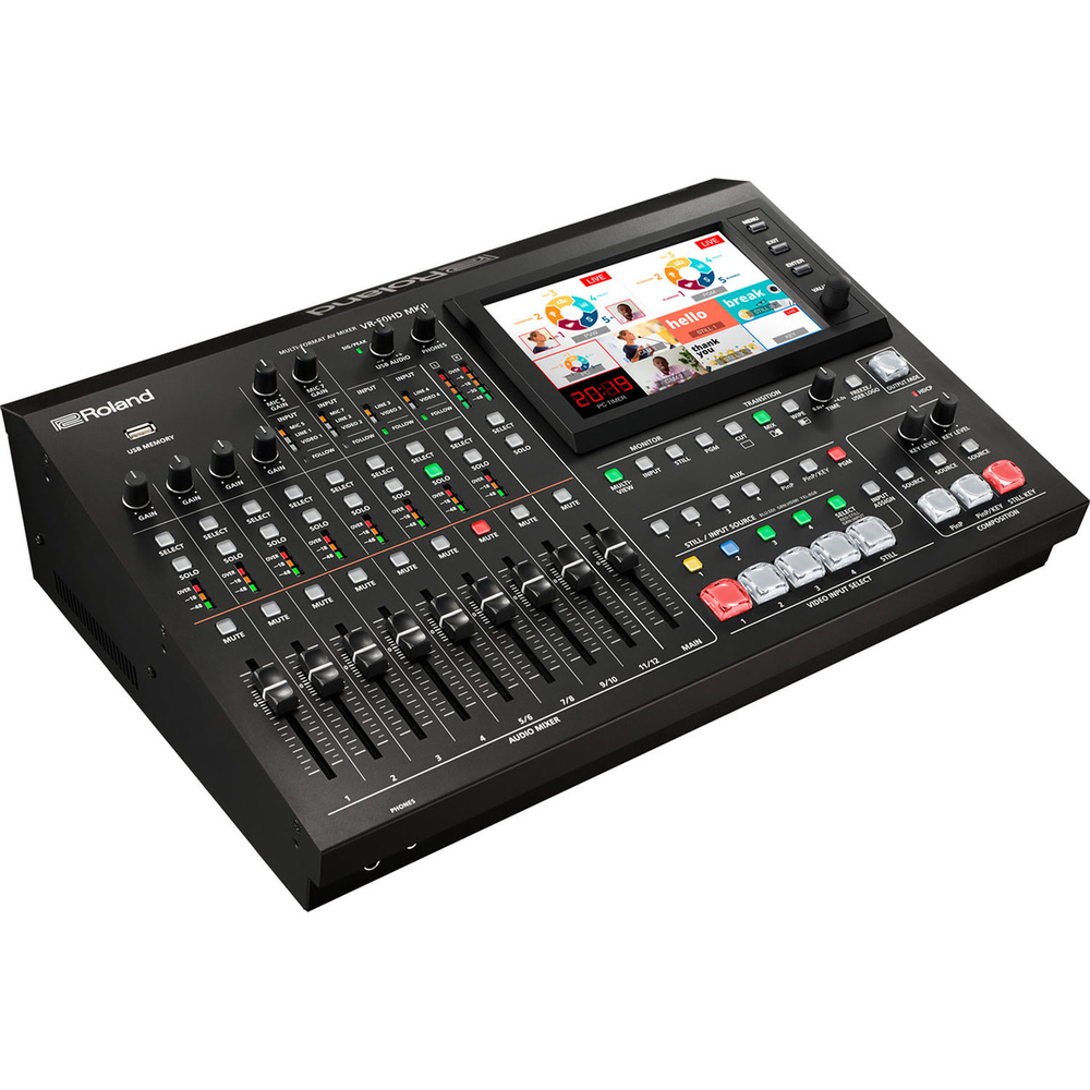 ROLAND VR-50HD MKII  MULTI FORMAT ALL IN ONE A/V HD MIXER