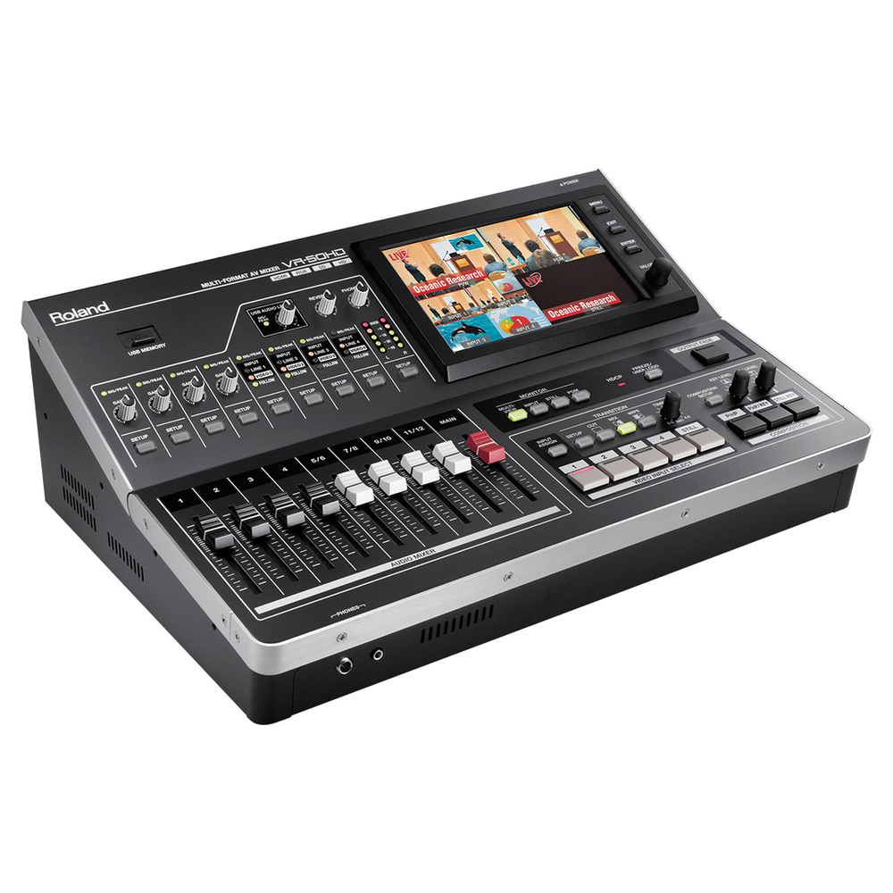 ROLAND VR-50HD MULTI FORMAT ALL IN ONE A/V HD MIXER