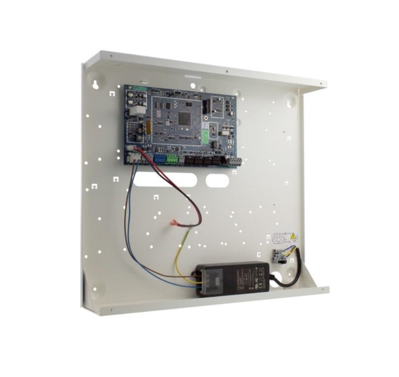 DSC POWERSERIES PRO HS3128-KIT1EN Υβριδικός Πίνακας Συναγερμού 8 έως 128 Ζωνών με Μεταλλικό Κουτί και Τροφοδοτικό Grade 3