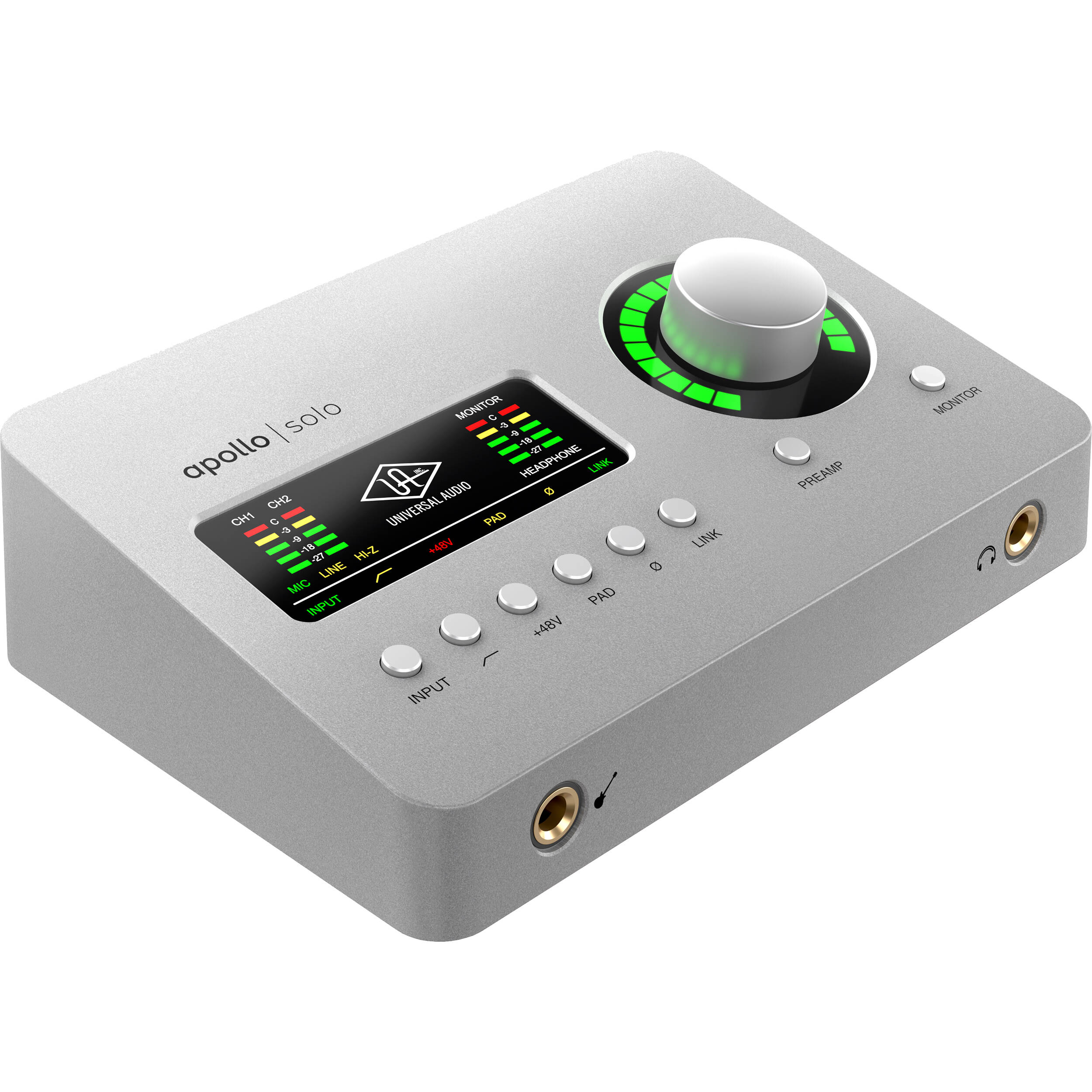 Universal Audio Apollo Solo Κάρτα Ήχου USB