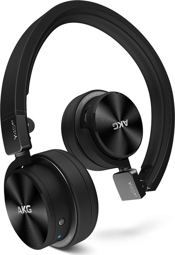 AKG Y45BT  Δυναμικό Ακουστικό Κλειστού Τύπου Bluetooth Black