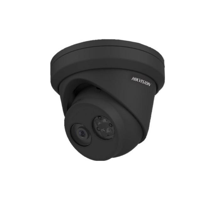 Hikvision DS-2CD2343G0-I (Black) Δικτυακή Κάμερα 4MP Φακός 2.8mm