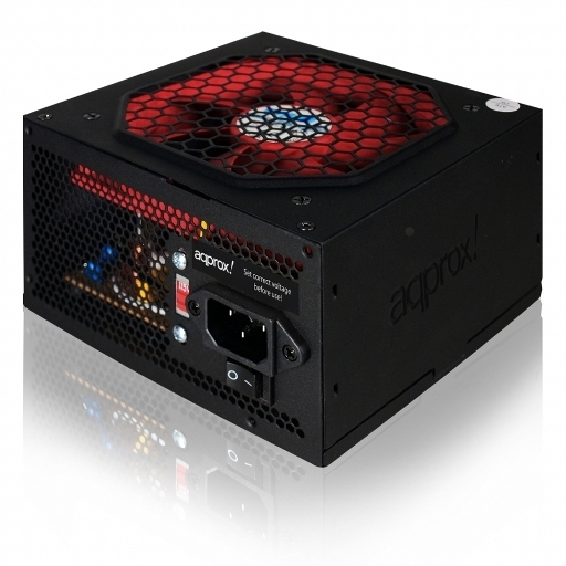 Approx app500PSB01, Τροφοδοτικο 500w 12cm fan BULK W/O POWER CABLE