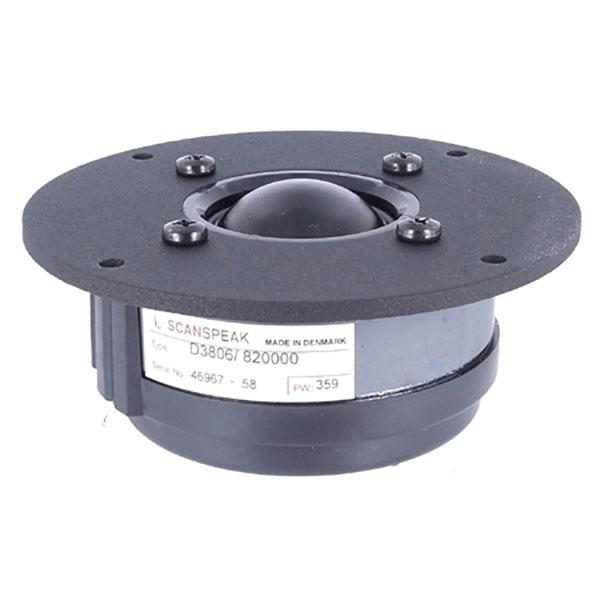 ScanSpeak D3806/820000 Dome Mid-range / Tweeter 125 mm 100 Watt 89 db 6Ω