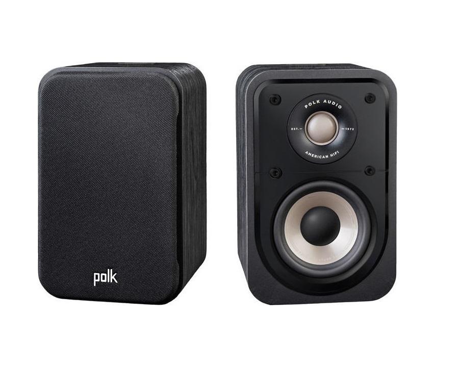 Polk Audio Signature S10e Ηχεία Βιβλιοθήκης Black (Ζεύγος)