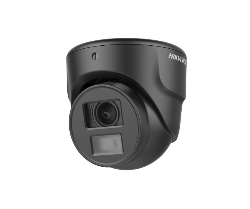Hikvision DS-2CE70D0T-ITMF (Black) Κάμερα HDTVI 1080p Φακός 3.6mm