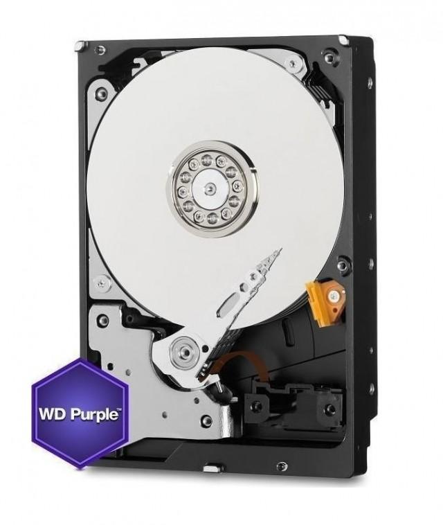 Western Digital Purple 6TB (WD62PURZ) 24/7 Surveillance HDD Για DVR/NVR