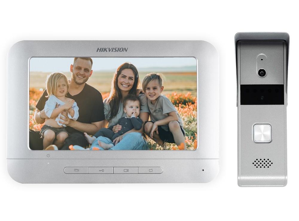 Hikvision DS-KIS203 Έγχρωμο Κιτ Θυροτηλεόρασης 4 Καλωδίων