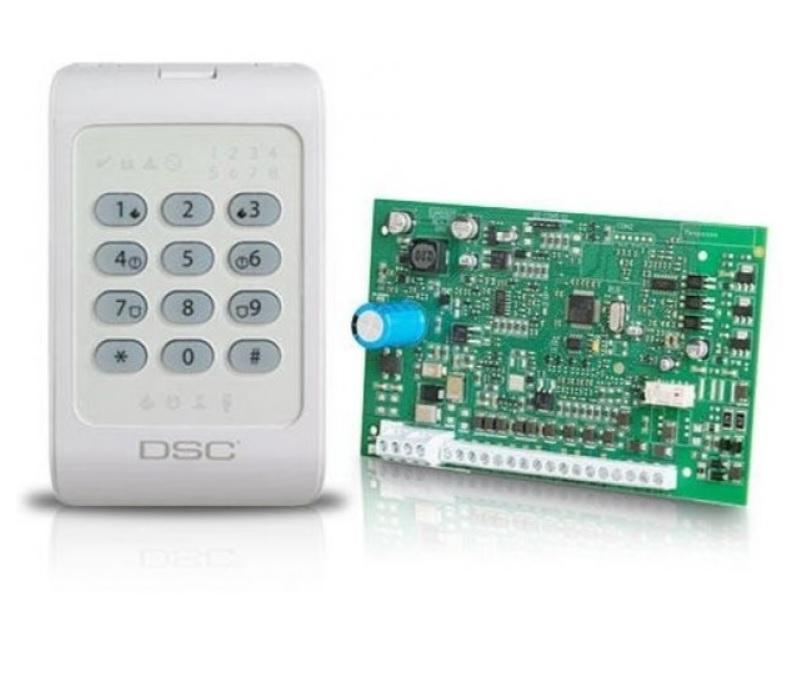 DSC POWERSERIES SET PC1404 EU-PCB ΚΙΤ Πλάκετα (PC-1404) & Πληκτρολόγιο PC-1404RKZW
