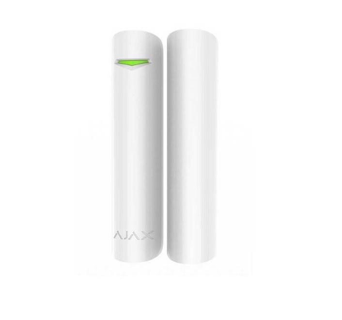 Ajax Door Protect Plus White Ασύρματη Μαγνητική Επαφή Πόρτας / Παραθύρου με Αισθητήρα Κλίσης Κραδασμών