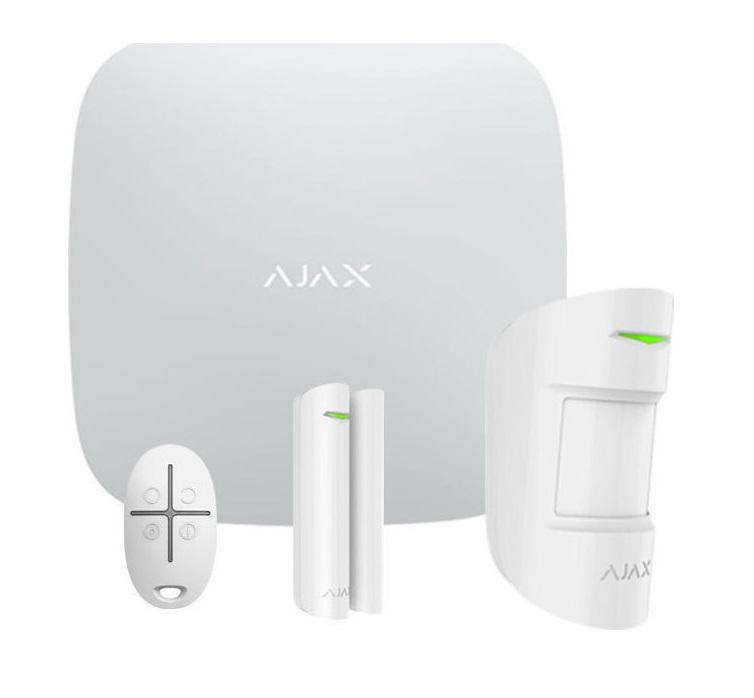 Ajax Starter Kit White Ασύρματο Σύστημα Συναγερμού
