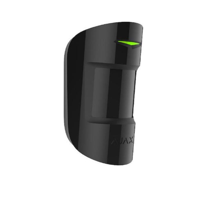 Ajax Motion Protect Plus Black Ασύρματος Ανιχνευτής Κίνησης PIR & MW