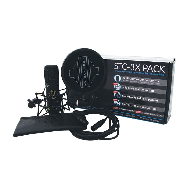 Sontronics STC-3X Pack Πυκνωτικό Μικρόφωνο