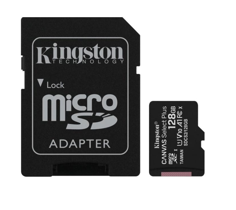 Kingston SDCS2/128GB Canvas Select Plus microSDXC 128GB