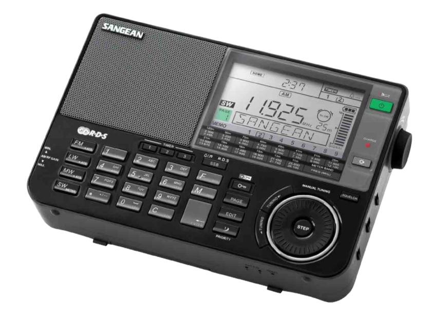 Sangean ATS-909 X Black - Ραδιόφωνο Παγκόσμιας Μπάντας