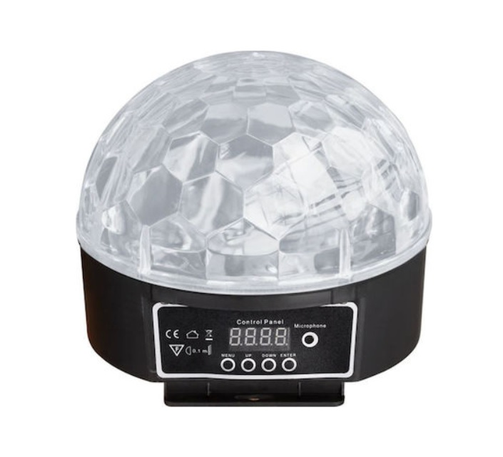 Staray LB-168 Φωτιστικό μισής Μπάλας με LED Ακτίνες RGBYWP 6X3W
