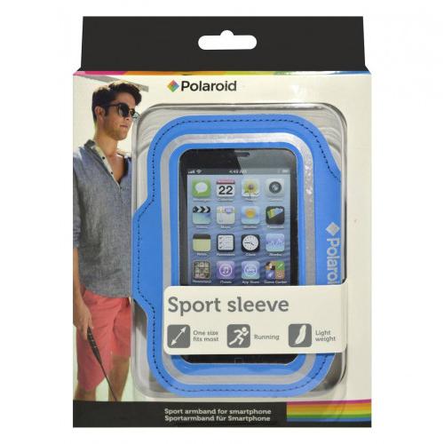 POLAROID Θήκη Armband Sport Sleeve για APPLE IPHONE SE/5/5S/5C (Μπλέ)