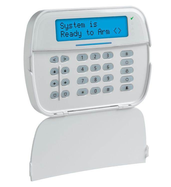 DSC POWERSERIES NEO HS2LCDE6 N Ενσύρματο Πληκτρολόγιο με Οθόνη LCD