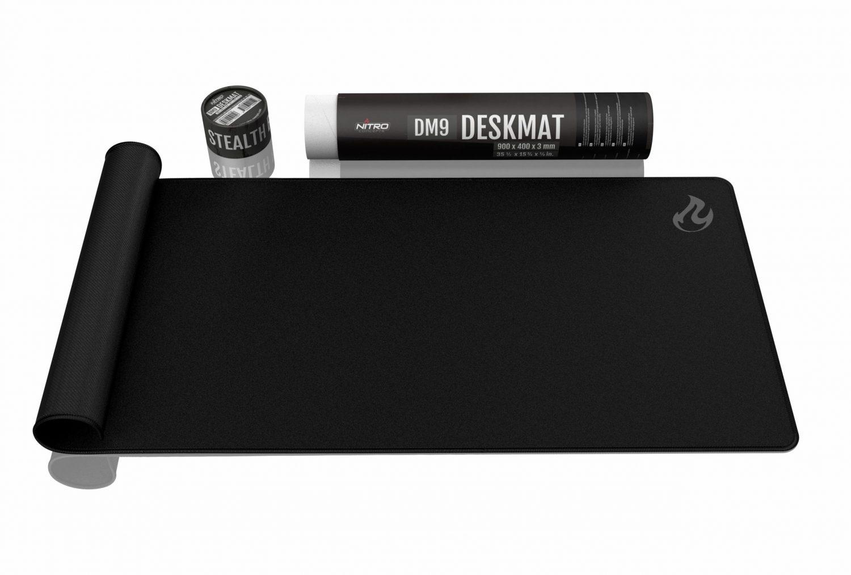 NITRO CONCEPTS DESKMAT DM9, 900X400MM – BLACK