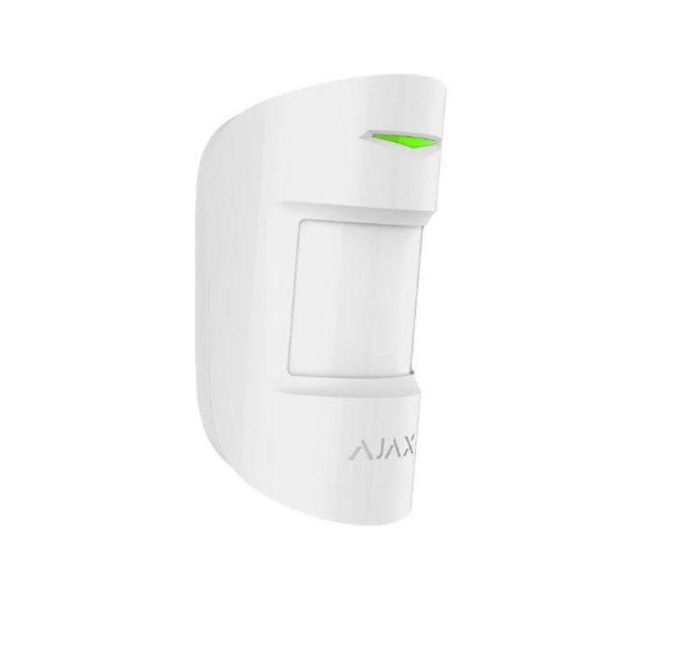 Ajax Motion Protect Plus White Ασύρματος Ανιχνευτής Κίνησης PIR & MW