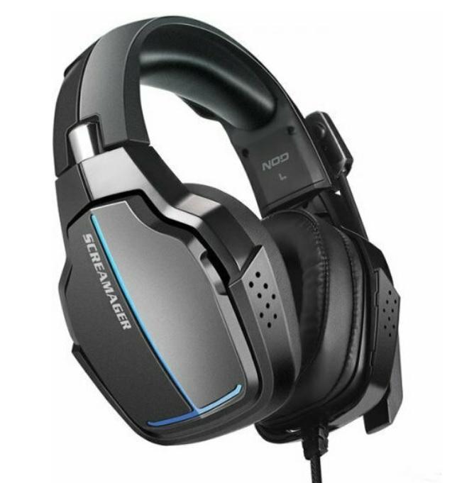 NOD Screamager Gaming Headset με Αναδιπλούμενο Μικρόφωνο
