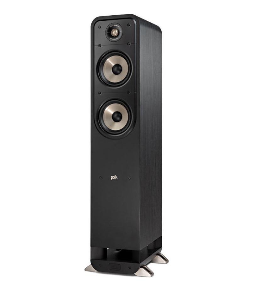 Polk Audio Signature S55e Ηχείο Δαπέδου Black (Ζεύγος)