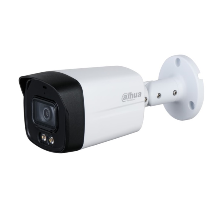 DAHUA HAC-HFW1239TLM-A-LED Full-color Starlight Κάμερα HDCVI 1080p Φακός 3.6mm