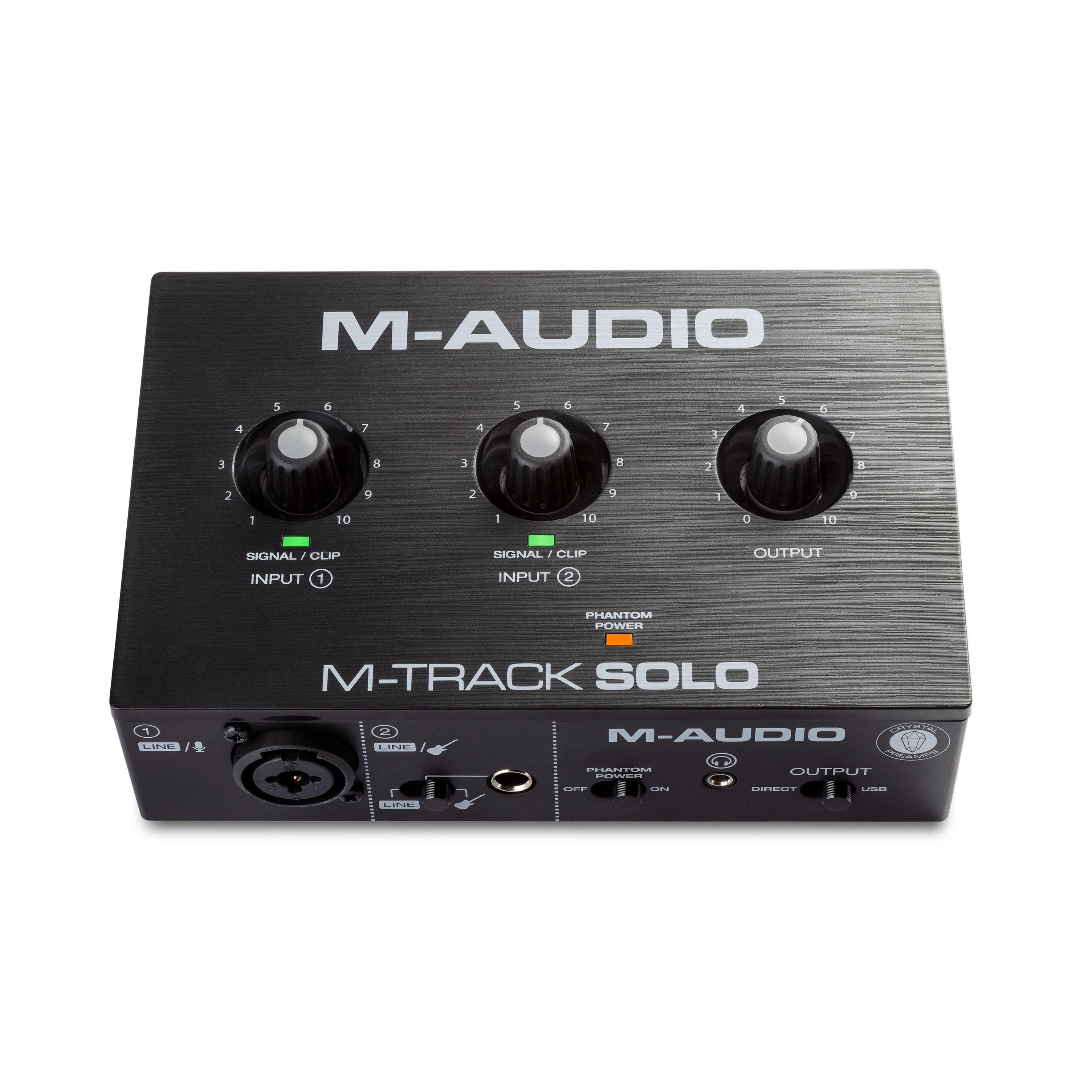 M-Audio M-Track Solo Κάρτα Ήχου