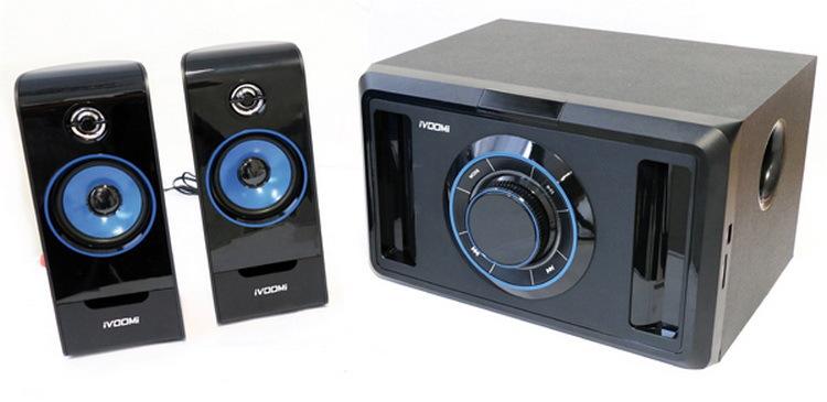 Ηχεία iVOOMi Paris 2.1 channel 35W USB 2.0V / SD / FM / LCD  Τηλεχειριστήριο iVO-2590-SUF
