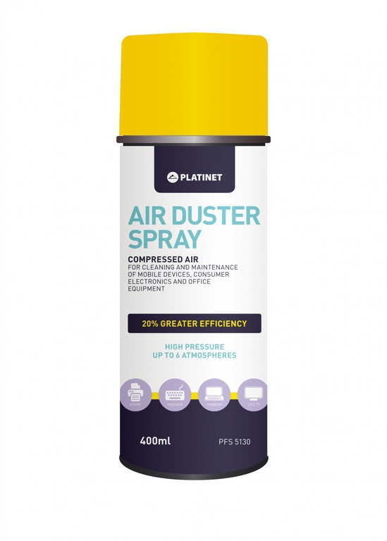Platinet, FS5130, Καθαριστικό πεπιεσμένου αέρα 400ml.