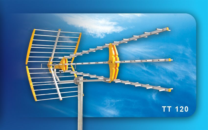 Condor, TT120, Ψηφιακή κεραία τηλεοράσεως UHF